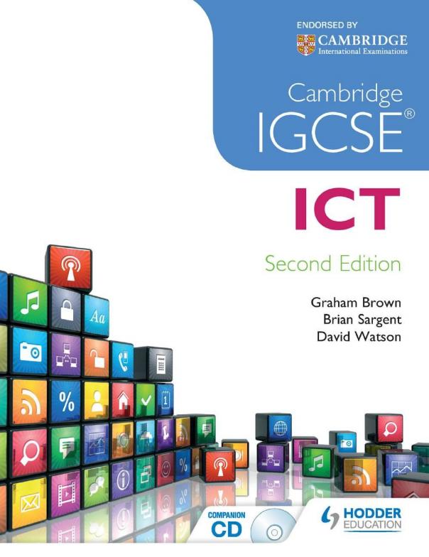 Cambridge IGCSE ICT Cover